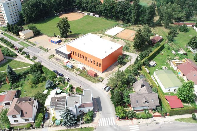 Stavba tělocvičné haly Pouchov bude dokončena na podzim
